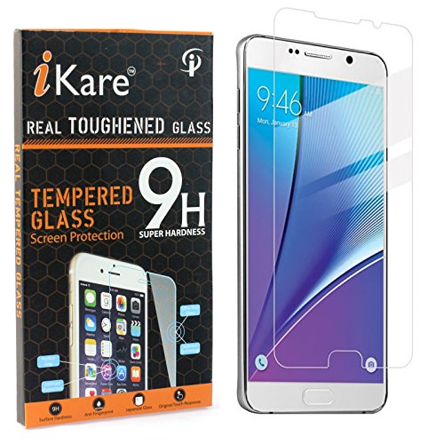 Galaxy Note 5 Tempered Glass, iKare 2.5D 9H Tempered Screen Protector for Samsung Galaxy Note 5 N920