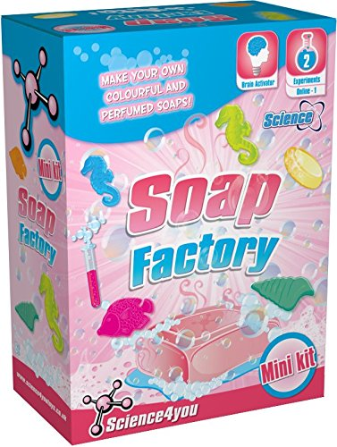 Science4you  Mini-Kit Soap Factory  Educational Science Toy  STEM Toy