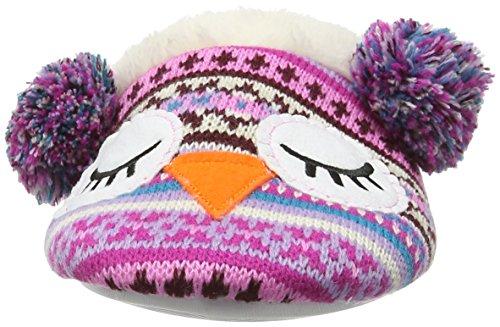 Eaze Owl Mule, Chaussons femme Multicolore - Multicolor (Multi)