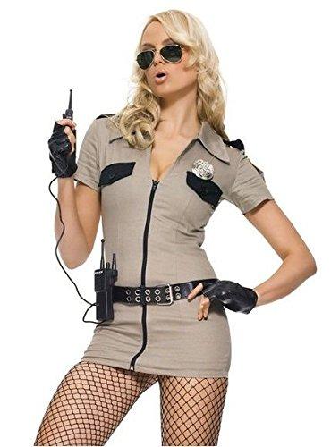 Leg Avenue - 5-teilig - Sheriff Sexy Kostüm - M - wie Foto - - Sheriff Kostüm Leg Avenue