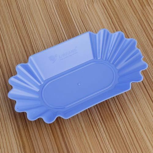Wiederverwendbare Plastikprobe Anzeigen Platte Des Nahrungsmittelgrad pp. Für Rohe Bohne Des Kaffees (Anzeigen-platten)