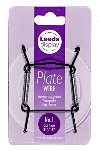 Fil Noir plaque Cintre N ° 1 : Leeds écran Pw10bkl 9-13 cm/8,9 - 12,7 cm