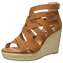s.Oliver Women's 5-5-28313-24 Gladiator Sandals, Brown Cognac 305, 4.5 UK