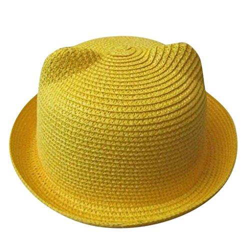 E Neueste Sommer Baby Hut Kappen Kinder Breathable Hut Strohhut Kinderhut Jungen Mädchen Hut Kappen (Piraten-hut-stile)