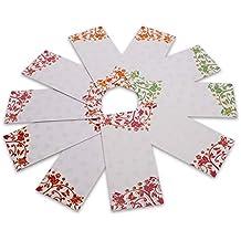DEVIKA Premium Shagun - Sobres de regalo para dinero (12 unidades, 19 x 9