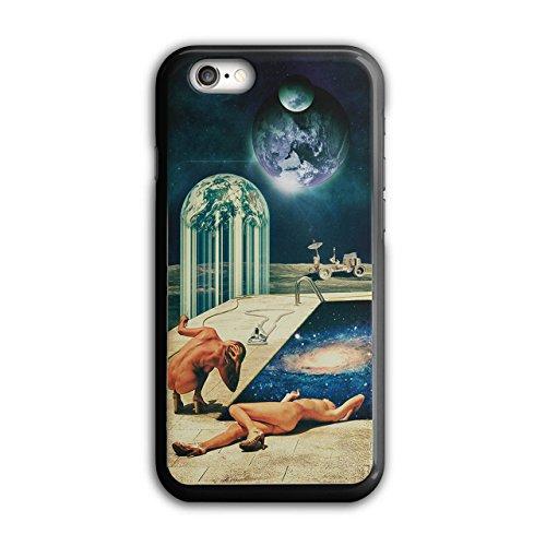 Nackt Mond Landung Schwimmen Schwimmbad iPhone 6 / 6S Hülle | (Kostüme Weiblich Schwimmen)