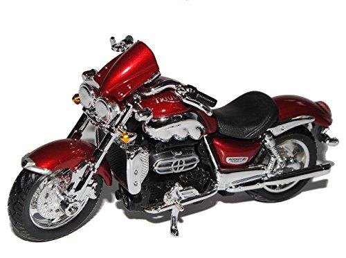 Triumph Rocket III Rot 1/18 Bburago Modell Motorrad