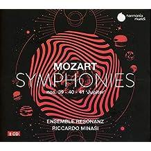 Riccardo Minasi Ensemble Resonanz - Mozart Symphonies Nos. 39 40 & 41 J