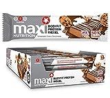 MaxiNutrition Bodyfit Proteinriegel Schokolade Cookie – Low Carb, High Protein Bar für den Muskelaufbau und einen Energiekick – 24 x 40 g Eiweiß Riegel