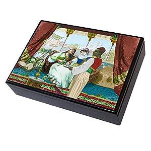 Viscio Trading 175838-Modiano Caja Madera 2Barajas Gran Bazar Ramino Club