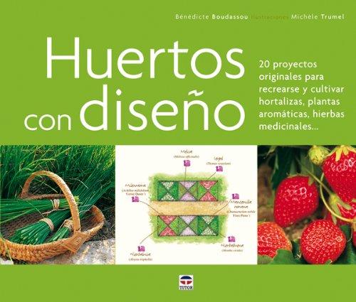 Descargar Libro Huertos con diseño de Bénédicte Boudassou