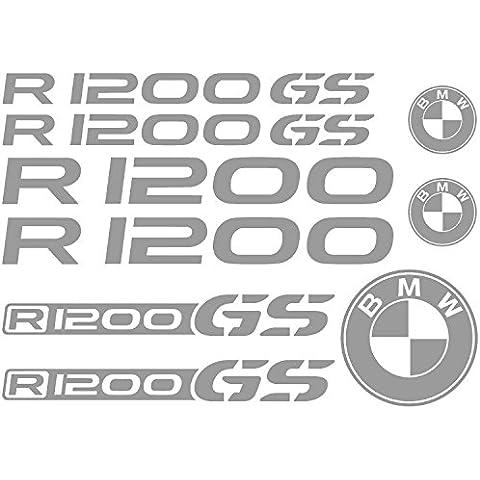 Adhesivo Stickers BMW R 1200GS Ref: moto-006