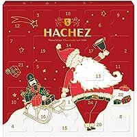 Hachez Adventskalender Weihnachtsmann mit kleinen Mini-Pralinen gefüllt, 1er Pack (1 x 100 g)