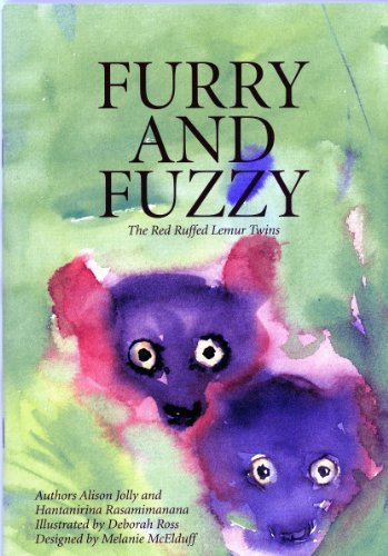 Furry and Fuzzy The Red Ruffed Lemur Twins (The Ako Series, Madagascar Lemur Adventures) (The Ako Series, Madagascar Lemur Adventures) by Dr. Alison Jolly (2012-08-02) (Ruffed Lemur)