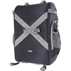 Rollei Drone Backpack - Mochila robusta para drones, adecuado para DJI Phantom 3 y 4, Mavic Pro, EHANG Ghost Drone 2.0, XIRO Xplorer - azul oscuro