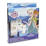 Frozen - Premium Tattoos, set de joyería y maquillaje (Toy Partner 675404)