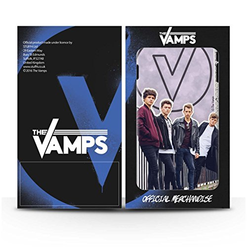 Offiziell The Vamps Hülle / Gel TPU Case für Apple iPhone SE / Pack 5Pcs Muster / The Vamps Doodle Buch Kollektion Ausgeschnitten