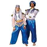 Kostüm Sultan Größe XL Oberteil Hose Aladin Turban 1001 Nacht Märchen Orient Scheich