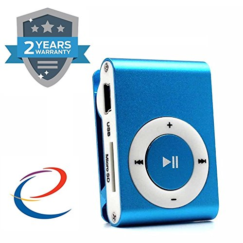 Energic Ipod Clip Mp3 Player With Stylish Design (Assorted Colour)