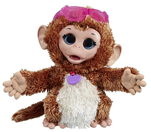 Hasbro A8756ES0 FurReal Friends - Baby Cuddles My Giggly Monkey Pet