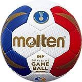 Molten Europe Replika Handball, Blau, One Size