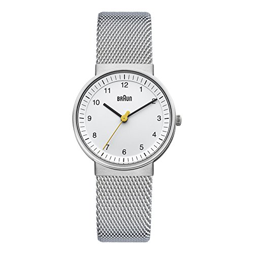 Braun Damen-Armbanduhr Unisex Ladies Classic Watch Analog Quarz BN0031WHSLMHL