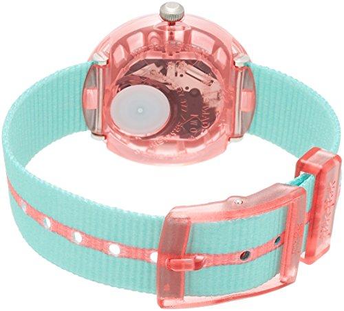 Flik Flak Mädchen Analog Quarz Uhr mit Stoff Armband FPNP020 - 2