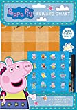 Childrens Wipe Clean Reward Charts With Stickers & Pen 3 Designs Weekly Planner (Peppa Pig)