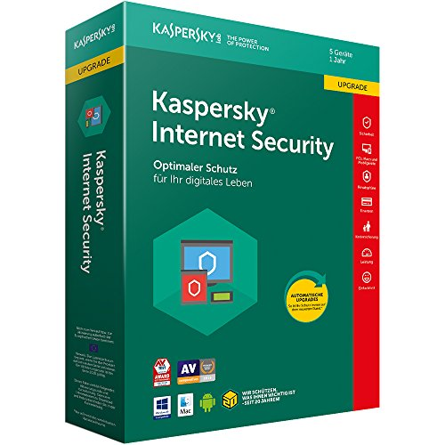 Kaspersky Internet Security 2018 Upgrade | 5 Geräte | 1 Jahr | Download