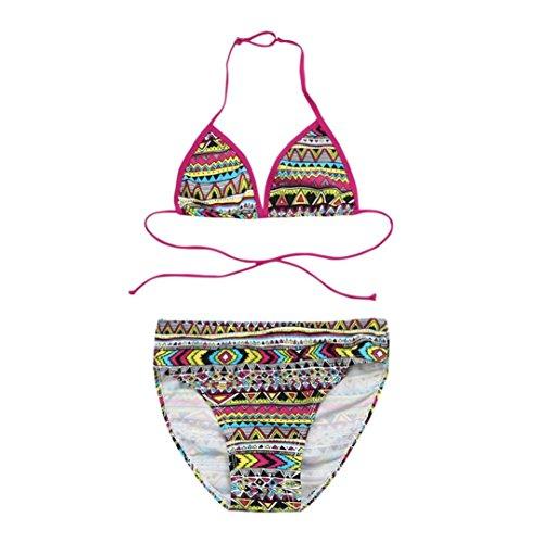 da652653f1e5 Bikini di Ragazze Costume da Bagno di Bambino feiXIANG® Bikini Set Bambine Un  Pezzo Bikini di Stampa Swimsuit Spiaggia Costumi da Bagno Due Pezzi di  Bambini ...