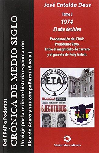 DEL FRAP A PODEMOS III: UN VIAJE POR LA RECIENTE HISTORIA ESPAÑOLA CON RICARDO (Ensayo) por JOSE CATALAN DEUS