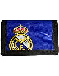 Real Madrid en nylon velcro Portefeuille Dans Un Choix De Designs et couleurs