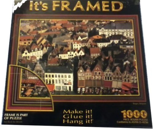 It's Framed Bruges, Belgium 1000pc Puzzle by Sure-Lox