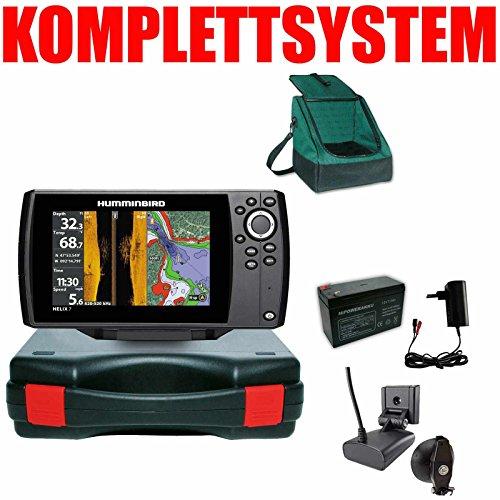 Humminbird Echolot GPS Portabel Basic Plus- Helix 7 Chirp GPS Mega SI G3