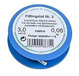 Cornat Weichlot für die Kalt und Warmwasserinstallation mit Kupferrohr, Schmelzbereich 230 Grad, 50 g, 1 Stück, T580519