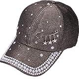 BOERMO Gorra de béisbol para Mujer, diseño de Anillos de Diamantes...