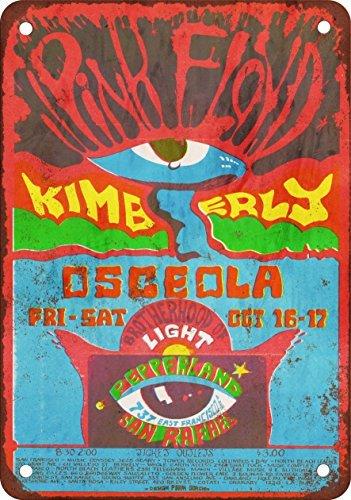 metal Signs 1970Pink Floyd Bei Pepperland San Rafael Vintage Look Reproduktion Metall blechschild 30,5x 45,7cm -