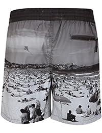 Tokyo Laundry Men's Takumi Beach Print Drawstring Swim Shorts Size S-XXL