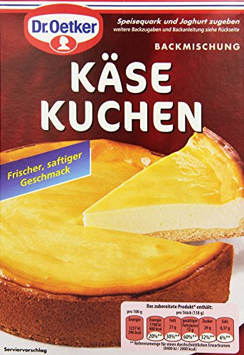 Dr. Oetker Käsekuchen, 570 g