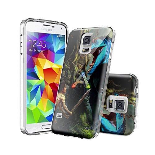 ASIB Samsung Galaxy S5 Schutzhülle [Clear Gel] Premium Transparent Soft Hülle Case [Silicone TPU] Hülle für Samsung Galaxy S5