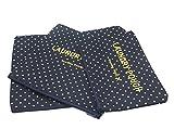 ITraveller 7 Stück Set-3 Verpackungs Würfel+3 Beutel+1 shoes bag Kompresse Ihre Kleidung während der Reise(7 pcs Wellenpunkt) - 9