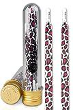 Ivybands® | Ivylaces® Rose White Leopard | Premium Lacets | Chaussures Bande ILACE027