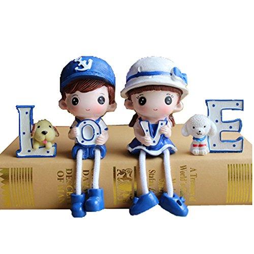 Créatif et unique Poupées / Toy Set Figure Décoration, AMOUR