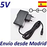 Cargador Corriente 5V Reemplazo Tablet Lexibook Junior Power Touch MFC270EN Recambio Replacement