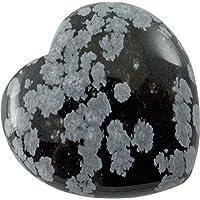 Edelstein Schneeflocken Obsidian Herz, 3 cm, 1 Stück / Edelsteinherz Steinherz schwarz grau weiß preisvergleich bei billige-tabletten.eu