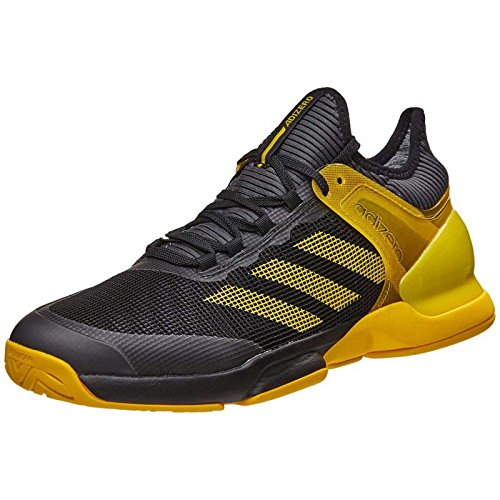 adidas Adizero Ubersonic 2 Clay, Zapatillas de Tenis para Hombre, (Negbas/Eqtama / Gricin), 41 1/3 EU