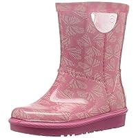 Lora Dora UGGRAHJEE Butterflies - Wellies - Pink Azalea