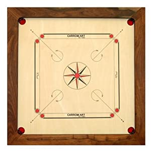 Carrom Arte - CBS7 - Juegos de Estrategia - WINIT de Carrom - Acacia Importado de Francia