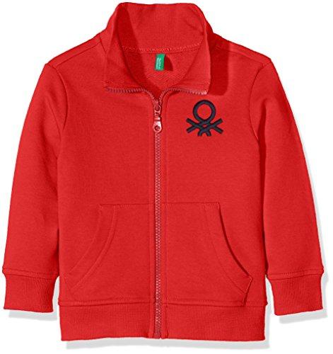 united-colors-of-benetton-jungen-sweatshirt-3jd7c5196-rot-burgundy-86-herstellergrosse-1y