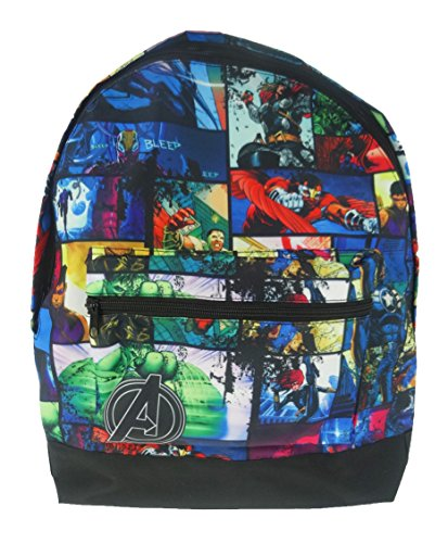 Marvel Roxy Backpack Mochila infantil, 39 cm, 13 liters, Varios colores (Multicolor)